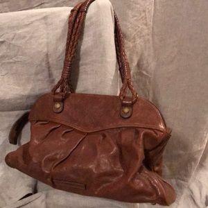 BCBGMAXAZIRA Brown Leather purse recondition GUC